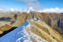 Esile cresta verso Cima Cannafusto