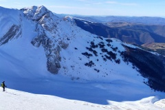 Scendendo verso la Val di Bove