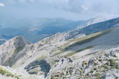 Monte Mozzone in primo piano