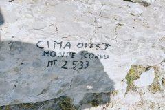 Anticima Ovest Monte Corvo