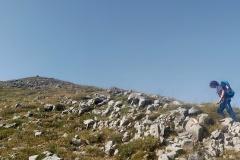 Alessio verso Serra del Prete