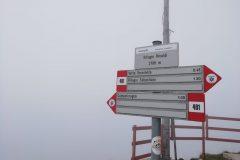 Segnavia Rifugio Rinaldi