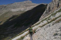 Risalita verso cima Giovanni Paolo