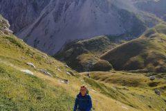 Alessio dentro la Val Maone