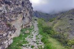 Parte iniziale del sentiero 300I
