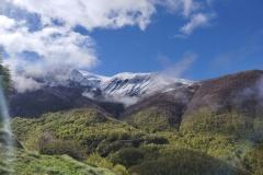 Monte Gorzano in veste bianca