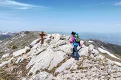 Monte Ocre con la nuova croce