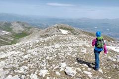 Scendendo dal monte Ocre