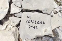 Pietra di vetta del Cefalone