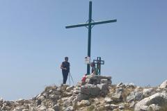 Croce di vetta del Miletto