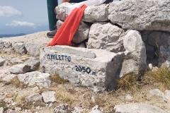 Monte Miletto nei pressi dei ruderi del Rifugio Beniamino Caso