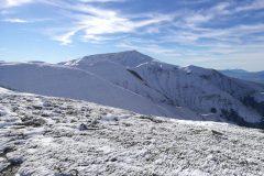 Il Monte Gorzano in lontananza