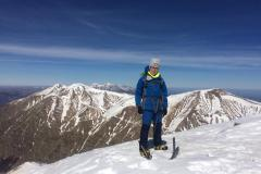 Alessio in vetta alla cima massima del Lazio