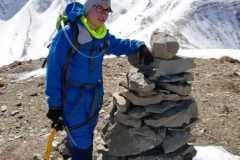 Alessio in cima al Monte Spaccato