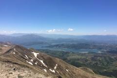 Panoramica sul lago di Campotosto