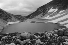 Il Bianco e Nero del Lago di Pilato