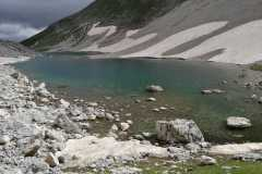 Lago di Pilato in ottime condizioni