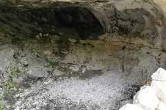 L'interno della Grotta da migliorare...