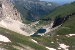 Il Lago visto dalla sua cima