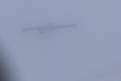 Nebbia e raffiche