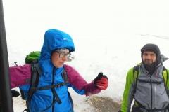 Stefano e Alessio tra il vento e la nebbia