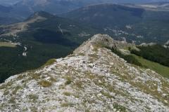 Cresta di discesa dal monte Bicco