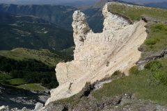 Conformazioni rocciose post terremoto