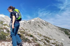 Monte Magnola all'orizzonte