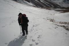 Nonno Palmarino tra le nevi