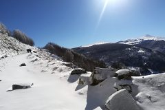 Sole e neve in montagna! TOP!