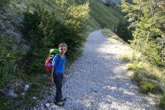 Primi passi in Val Maone