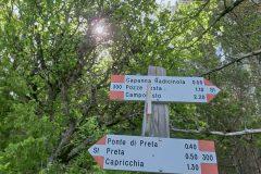 """Segnavia del Parco """"Soppo"""""""