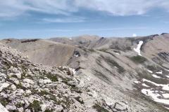 Verso le creste della montagna madre