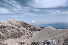 Lo sguardo vero il Monte Acquaviva