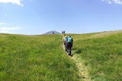 Salendo verso Monte Amandola