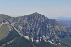Parete Nord del monte Bove