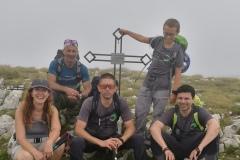 Foto di gruppo sul Tremoggia