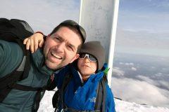Sorrisi in cima al Monte Girella