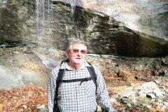 Nonno Sergio tra i boschi della Laga