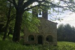 Suggestiva sulla chiesa di Santa Maria in Pantano