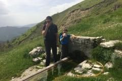 Alessio e Daniele alla Fonte del Pastore