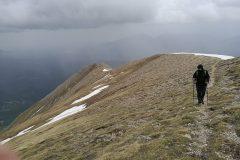 In salita verso il Monte Vettore