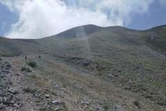 Visuale di Monte Papa
