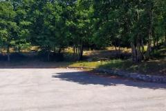 Parcheggio deserto