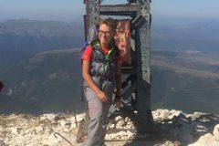 Alessio sulla Croce di Monte Bove Nord