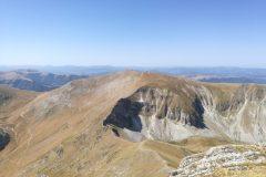 Veduta verso Monte Bove Sud