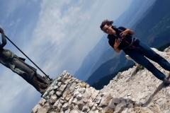 Alessio e la Statua di vetta