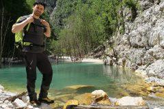 Stefano sulle acque del...Lago