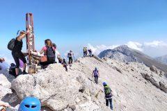 Affollamenti in vetta al Monte Prena