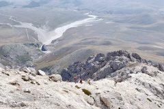 Scendendo dal Monte Prena
